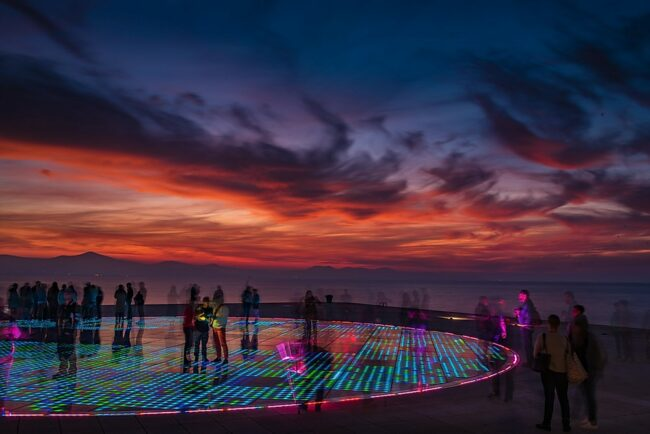 greetings to the sun zadar